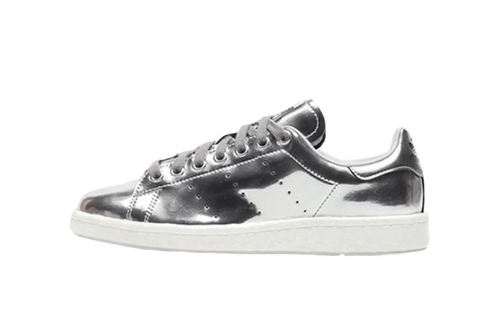 online store c7fa7 493a2 adidas Stan Smith Boost Silver Womens