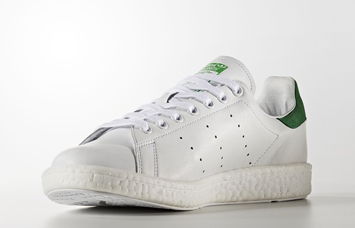 release date: 19c8d 281e2 adidas Stan Smith Boost White Green