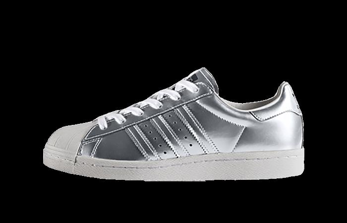 99b79e715c57b adidas Superstar Boost Silver Womens