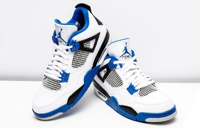 hot sales 99232 77961 Air Jordan 4 Motorsports White