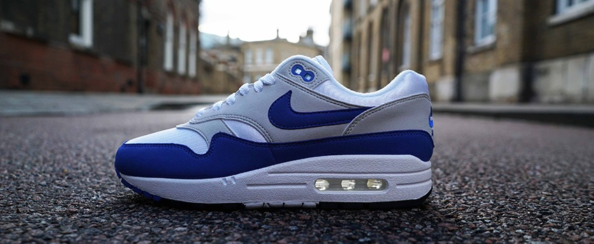 super popular 76dd3 0fad5 Nike Air Max 1 OG 2017 Royal Blue Closer Look – Fastsole