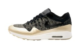 Nike Air Max 1 Ultra 2.0 Flyknit Metallic Gold 881195-001