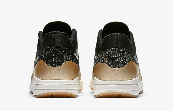 wholesale dealer 8a673 3ae03 Nike Air Max 1 Ultra 2.0 Flyknit Metallic Gold