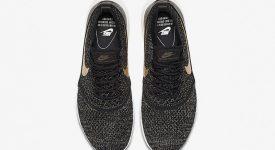 25c66bb4fe ... Nike Air Max Thea Ultra Flyknit Metallic Gold 881564-001 b ...