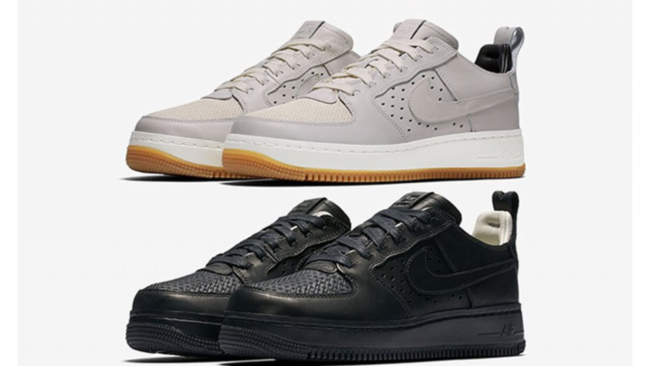 NikeLab Air Force 1 Tech Craft Low is Set to Release in