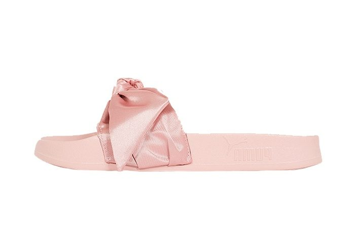 competitive price 2fb46 bbae3 PUMA x Fenty Rihanna Bow Slide Pink