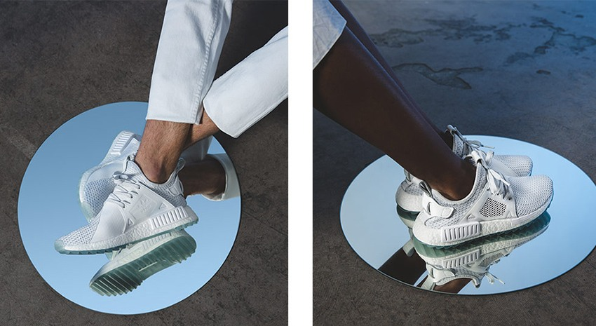 BUY Adidas NMD R1 Triple White Reflective