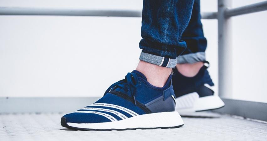 dd758de5e538 White Mountaineering x adidas NMD R2 Navy BB2972 FastSole.co.uk 2