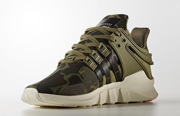 sports shoes 8ccc2 5e411 adidas EQT Support ADV Camo Olive