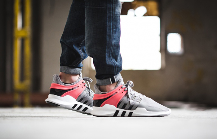 camisa cambiar Comida sana  adidas EQT Support ADV Grey Turbo Red – Fastsole