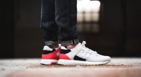 new arrival b42ad 74a30 adidas EQT Support Ultra White Turbo Red – Fastsole