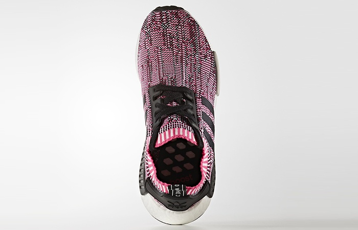 Women's adidas NMD R1 W PK Salmon Camo Pink US Sz 6 10 Sun