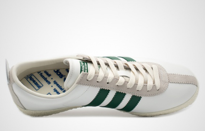 adidas spezial green and white| flash