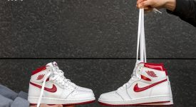 detailed look e132f f468d Air Jordan 1 High OG Metallic Red 555088-103 Buy New Sneakers Trainers FOR  Man ...