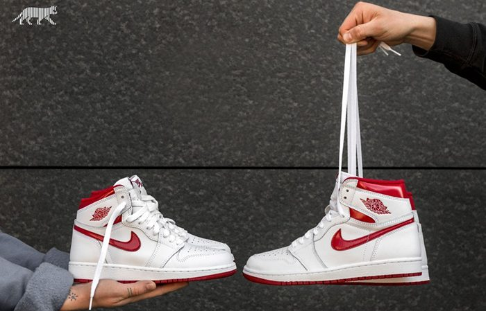 db0d04cea8b Air Jordan 1 High OG Metallic Red 555088-103 Buy New Sneakers Trainers FOR  Man ...