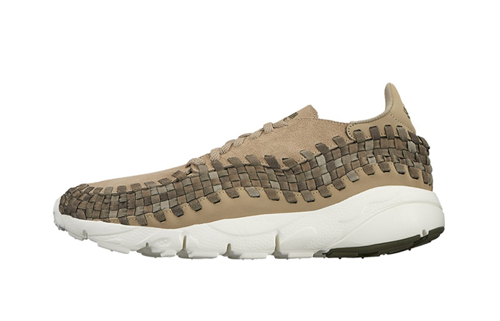 low priced 81d90 8954f ... Nike Air Footscape Woven Beige 875797-200 Buy New Sneakers Trainers in  UK Europe EU