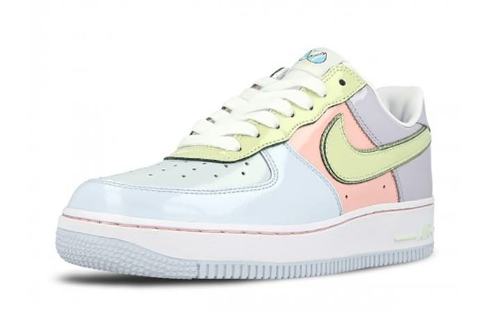 Nike Air Force 1 Low Easter Pack Blue Lime 845053 500 b