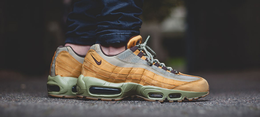 d7be325fc7 Nike Air Max 95 Premium Wheat 538416-700 FT - Best Items from FootLocker  Sale