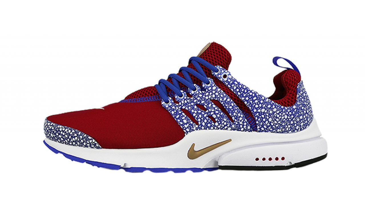 ceny detaliczne kup popularne oficjalne zdjęcia Nike Air Presto Safari Pack Red Blue