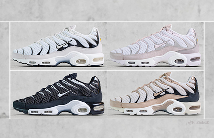 brand new 7cfaa e56fc NikeLAB Air Max Plus TN Pack Release Info – Fastsole
