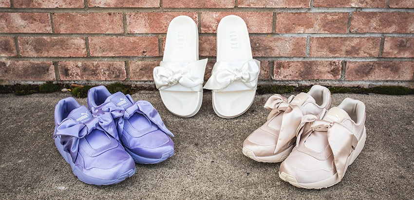 finest selection d302e 84257 Rihanna PUMA Fenty Bow Pack Releasing this April – Fastsole