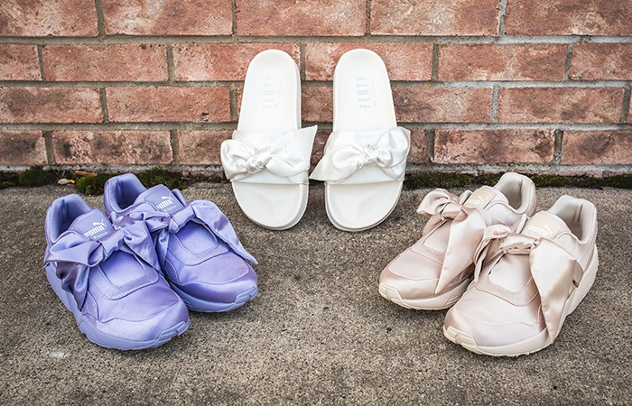 Rihanna PUMA Fenty Bow Pack Releasing this April - Sneaker News Reviews and Release Updates in UK FT