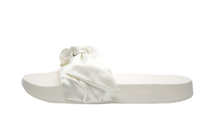 wholesale dealer 38863 93485 Rihanna x PUMA Fenty Bow Slide White 365774-02