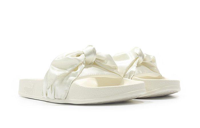 puma fenty bow white