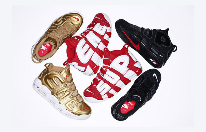 Supreme x Nike Air More Uptempo Buy in UK Europe - Sneaker News and Release Updates in UK Europe