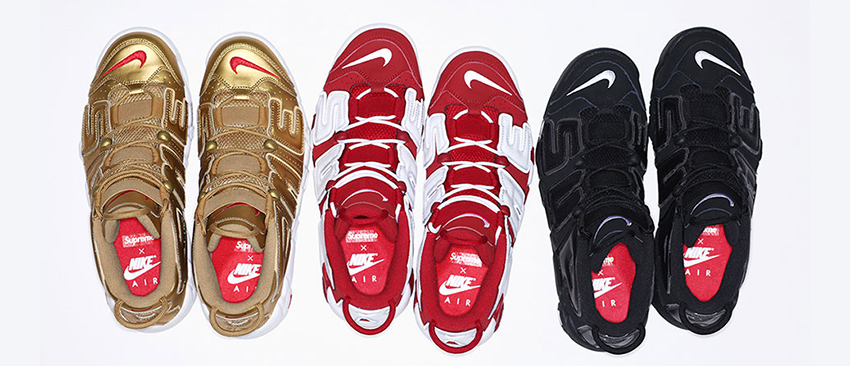Supreme x Nike Air More Uptempo In UK Europe - Sneaker News and Release Updates in UK Europe 06