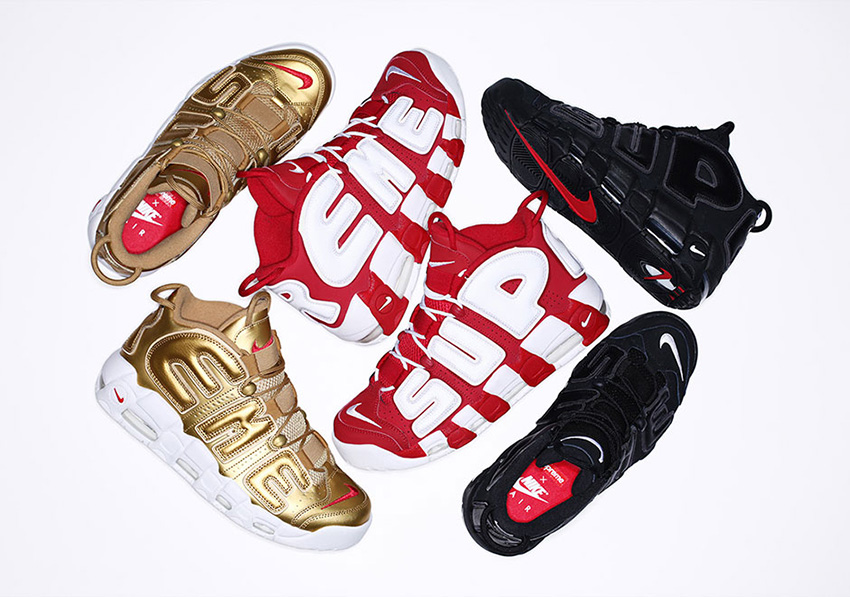 Supreme x Nike Air More Uptempo In UK Europe - Sneaker News and Release Updates in UK Europe 08