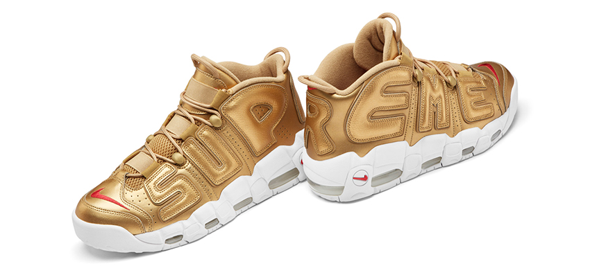 Supreme x Nike Air More Uptempo In UK Europe - Sneaker News and Release Updates in UK Europe 10