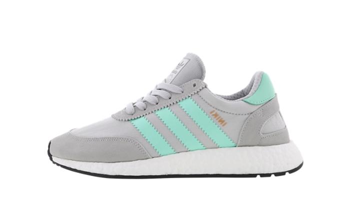 adidas Iniki Runner Grey Mint – Fastsole