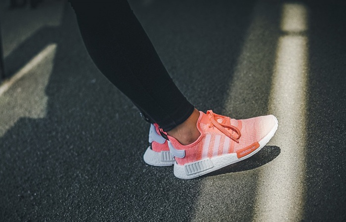 Adidas Originals NMD R1 Red Black Boost UK 6 12 Primeknit