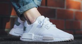 Footlocker Set to Resctock adidas NMD R1 White Womens
