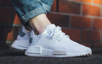 Footlocker Set to Resctock adidas NMD R1 White Womens