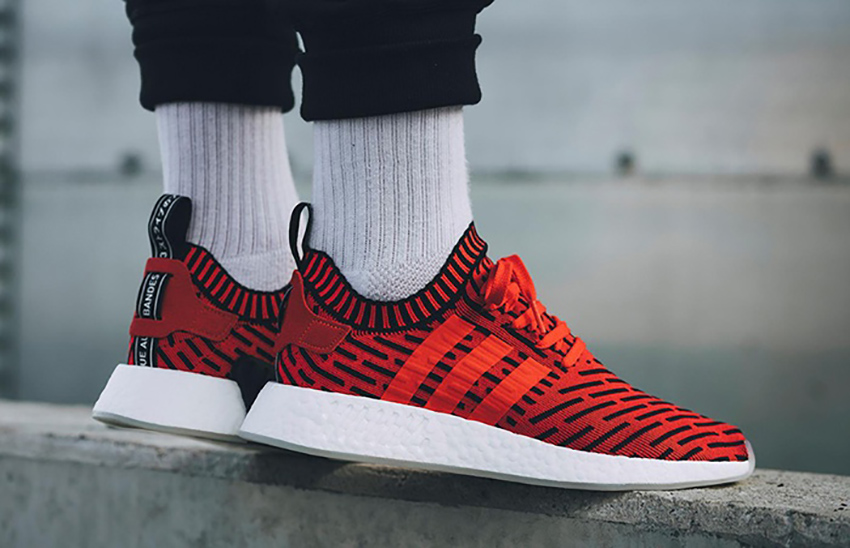 7db9f3ead575f adidas NMD R2 Core Red Primeknit BB2910 instock - Sneakers News and Release  Updates in UK