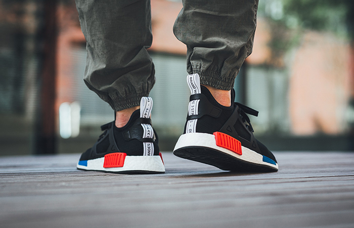 adidas NMD XR1 Blue Striped Primeknit