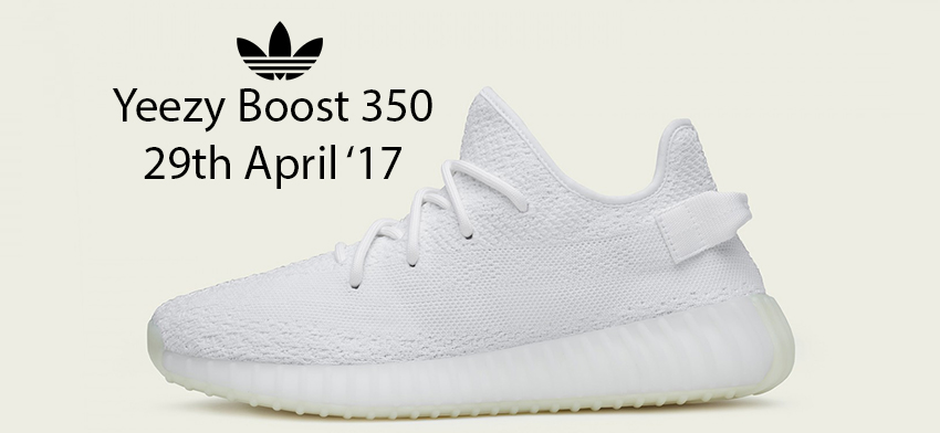 cheap for discount 6d699 b1917 adidas Yeezy Boost 350 V2 White Raffle and Release Info ...
