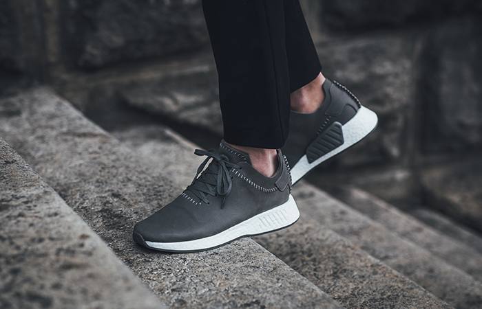 separation shoes 69ac2 8191e adidas x Wings+Horns NMD R2 Grey