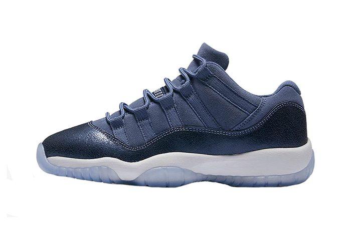 Air Jordan 11 Low GS Blue Moon 580521-408 Buy New Sneakers Trainers in UK Europe EU