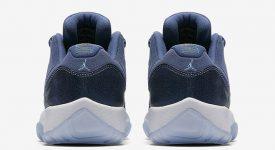 Air Jordan 11 Low GS Blue Moon 580521-408 a