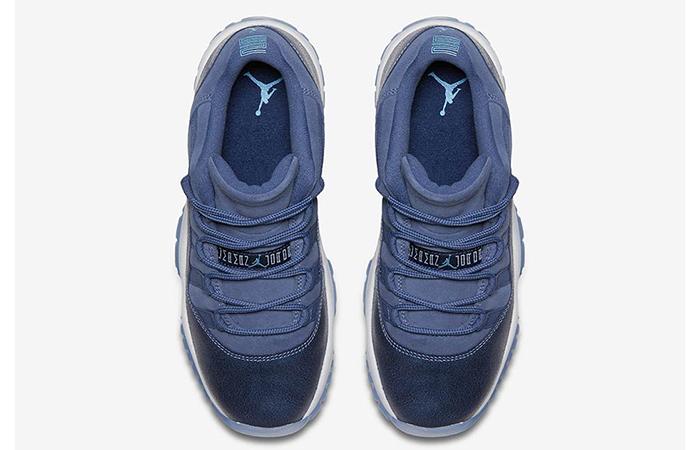 Air Jordan 11 Low GS Blue Moon 580521-408 c