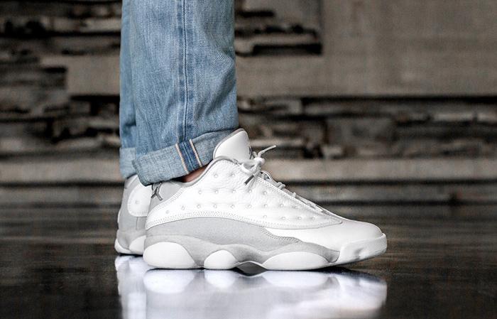 3d57b1df688 ... to buy air jordan 13 low pure money 310810 100 buy new sneakers  trainers for inexpensive air jordan 13 low retro white metallic silver pure  platinum ...