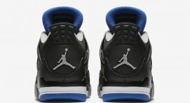 Air Jordan 4 Motorsport Black Silver 308497-006 Buy New Sneakers Trainers FOR Man Women in UK Europe EU 01