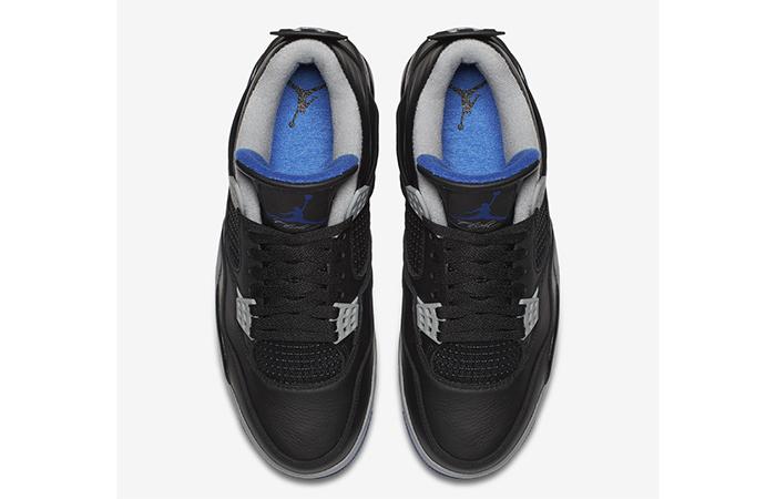Air Jordan 4 Motorsport Black Silver 308497-006 Buy New Sneakers Trainers FOR Man Women in UK Europe EU 03
