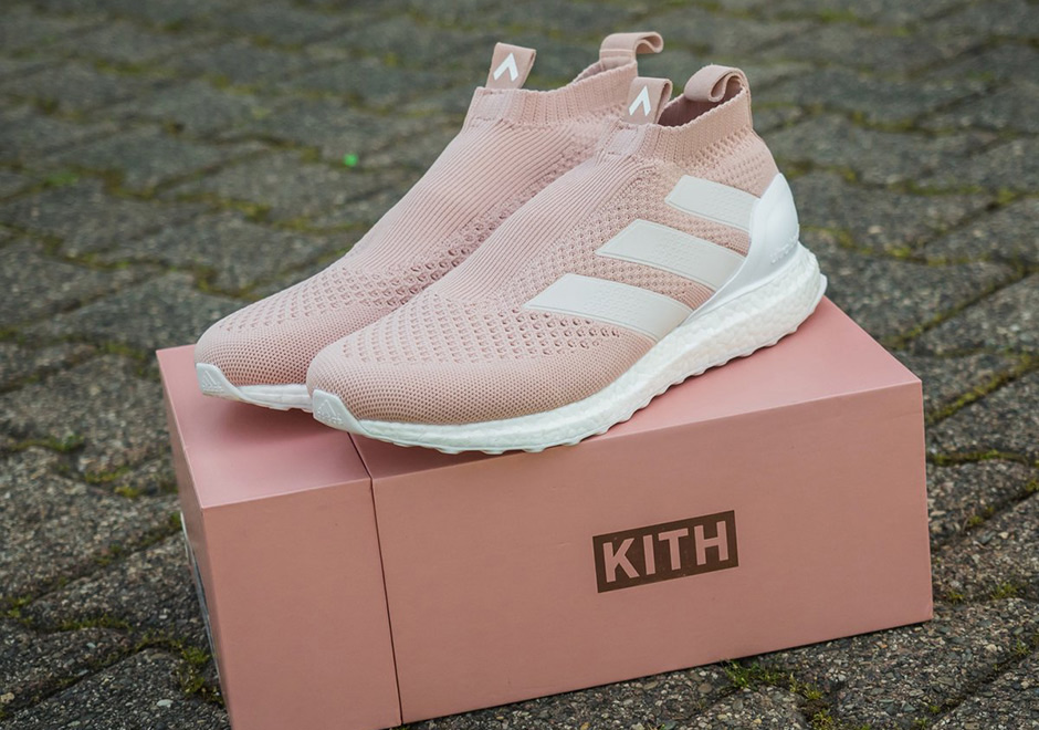 720fd182237 KITH x adidas Ace 16+ Ultra Boost Pink Release Details – Fastsole
