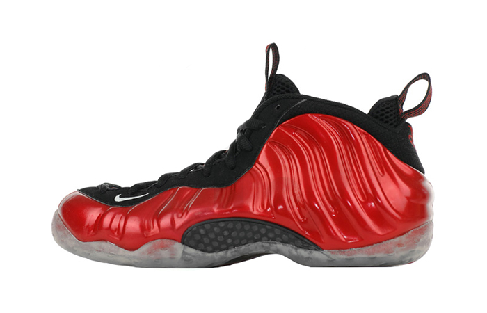 hot sale online d69e4 947fe Nike Air Foamposite One Metallic Red