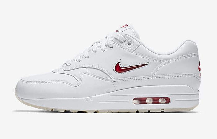 Nike Air Max 1 Jewel OG White 918354-104 Buy New Sneakers Trainers FOR Man Women in UK Europe EU 07