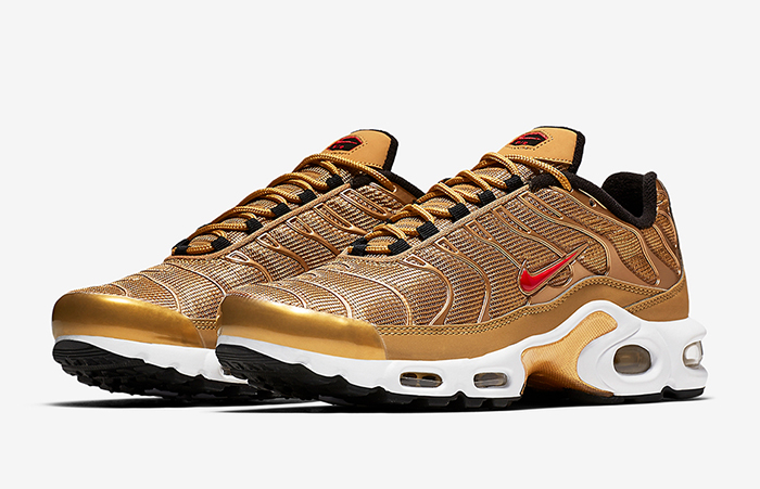 a973d8e9f8 ... Nike Air Max Plus Metallic Gold 887092-700 Buy New Sneakers Trainers  FOR Man Women ...